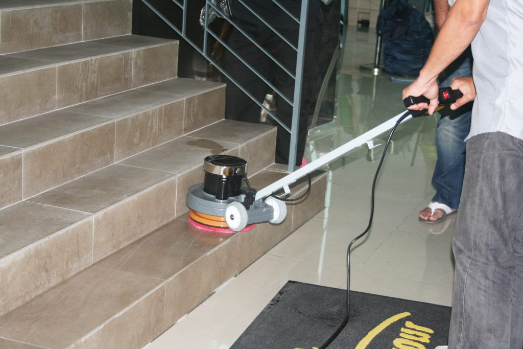 P130 applied on staircase