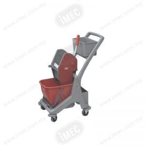 Utility Single Mop Bucket Red