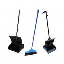 Lobby Dust Pan and Broom